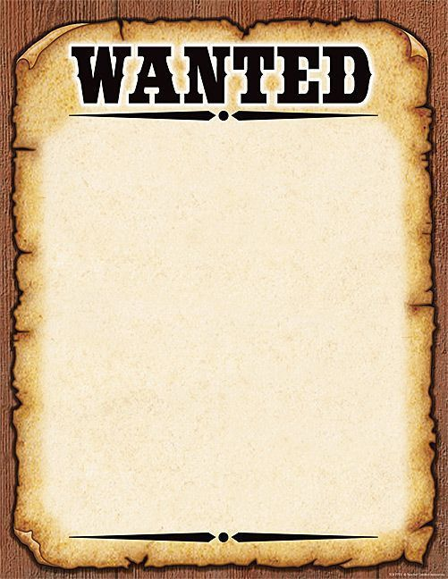 Free Printable Wanted Poster Free Printable Wanted Poster Wanted