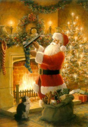 Santa Claus is such a warm Christmas feeling.