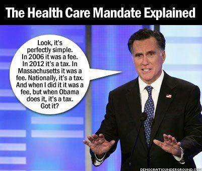 The Difference between Obamacares and  Romneycare