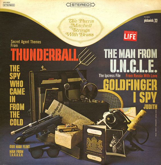 The Parris Mitchell Strings with Brass - Secret Agent Themes from Thunderball (1976)