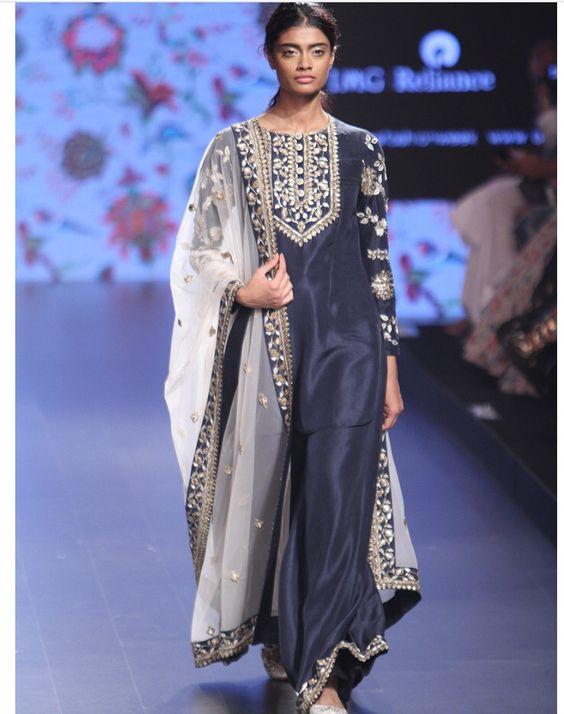 Payal Singhal # lakme fashion week 2016# Pallazo love   Abaya ...