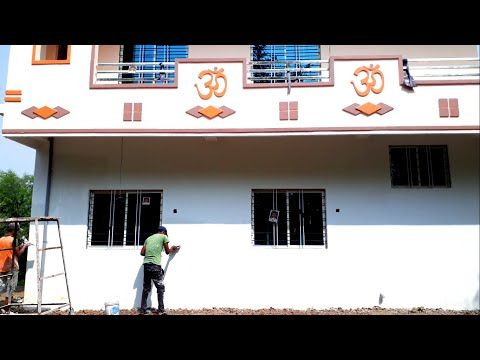 How To Apply Wall Putty On Wall New Home Gallery Putty And Paints Work New Home Wall Putty Youtube In 2021 New Homes Wall How To Apply