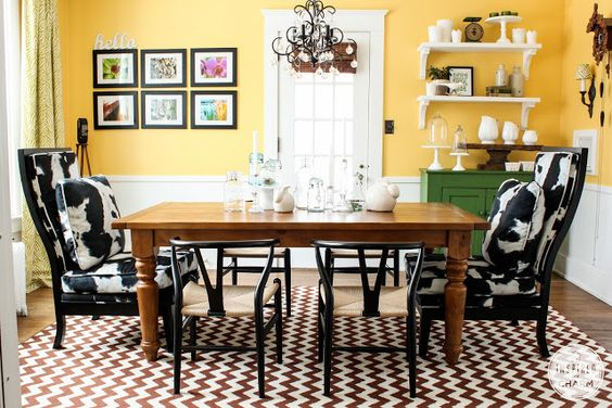 A Happy Dining Room