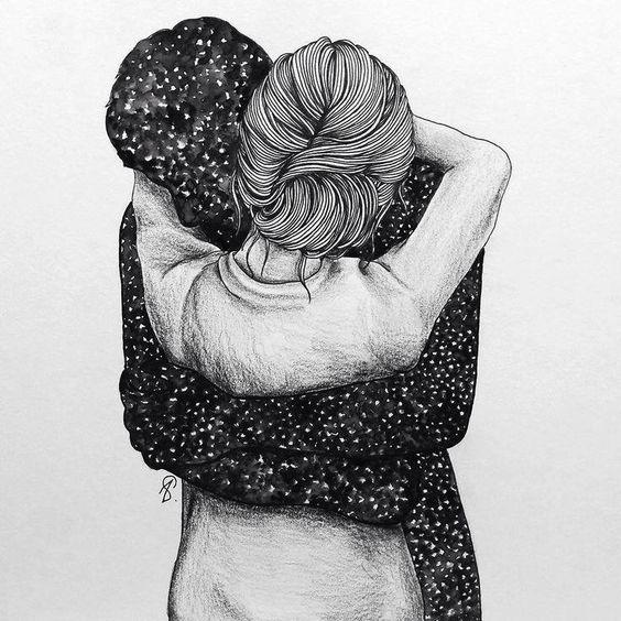 Abrazo mi cielo
