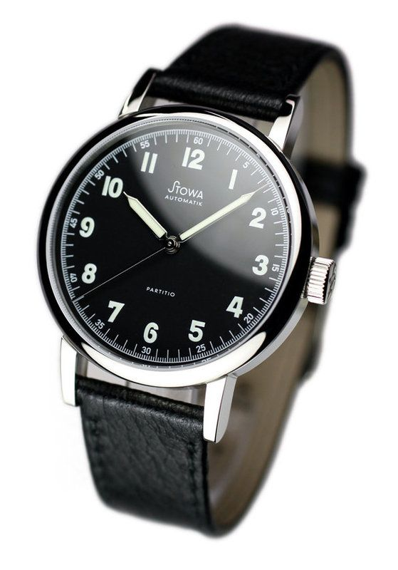 Stowa partitio men 39 s watches pinterest stowa cheap watches and black for Cheap watches