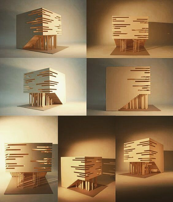 Reposting Ibbmdesign 1 8 Scale Structure Model Basswood Mylar Glue Architecture Ar Concept Models Architecture Concept Architecture Facade Architecture