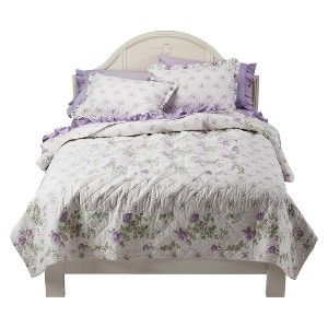 Simply Shabby Chic® Quilt - Purple : Target Mobile