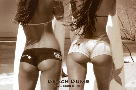 Beach Bums. Poster from AllPosters.com, $9.99