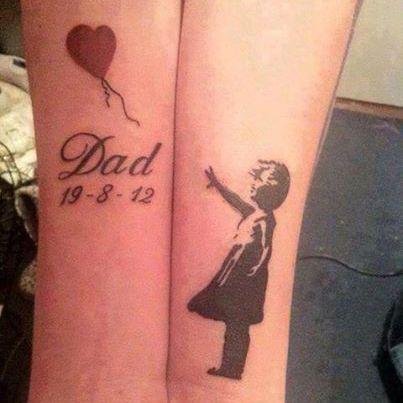 Resultado de imagen para tatuaje padre fallecido