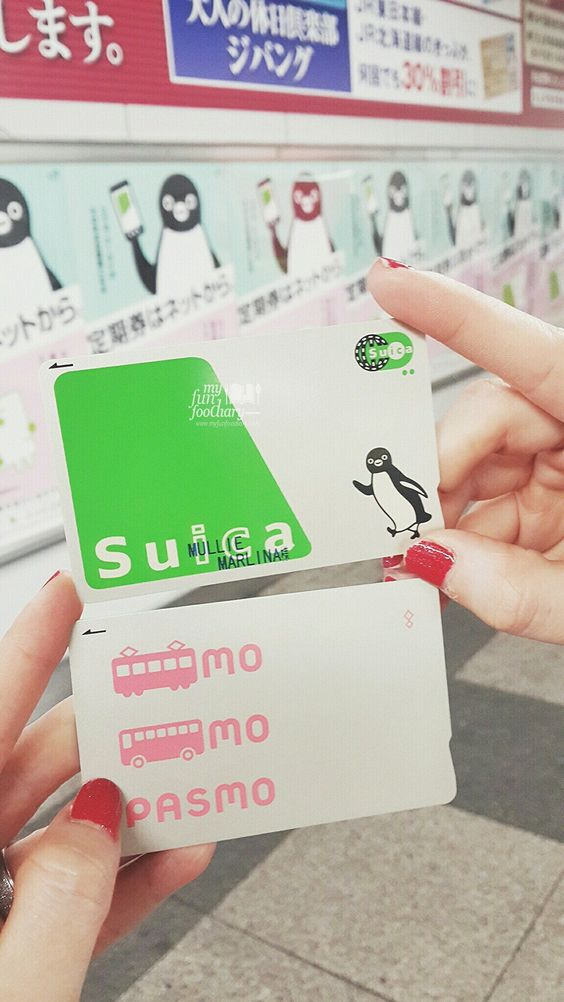 Suica vs Pasmo Card in Japan by Myfunfoodiary