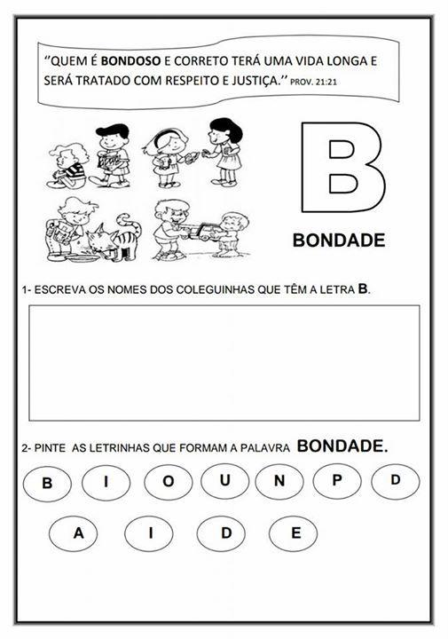 Alfabeto De Valores Morais Check More At Https Demonstre Com