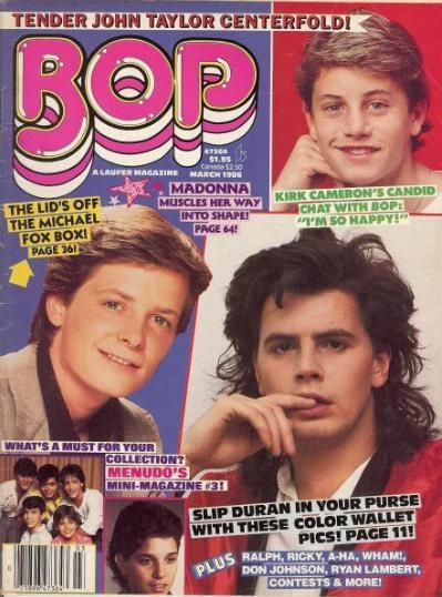 this was a wee bit before I became boy crazy. My covers were: Jonathan Brandis, Jonathan Taylor Thomas (aka JTT) Mike Vitar, etc.
