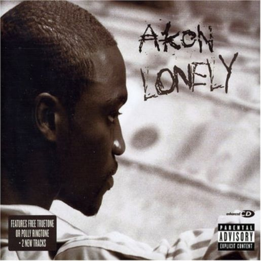 Akon – Lonely (single cover art)