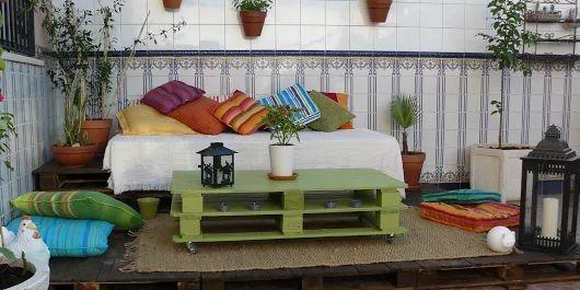 3 ideas para tu terraza chill out con palets