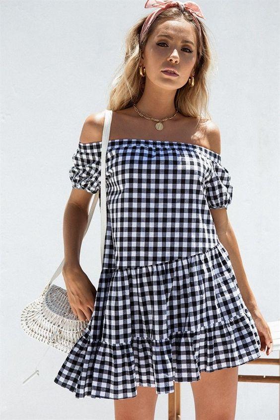 Riviera Off Shoulder Dress - Dresses by Sabo Skirt | @giftryapp