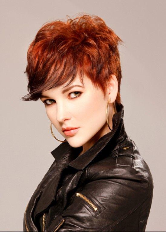 Tagli con capelli rossi