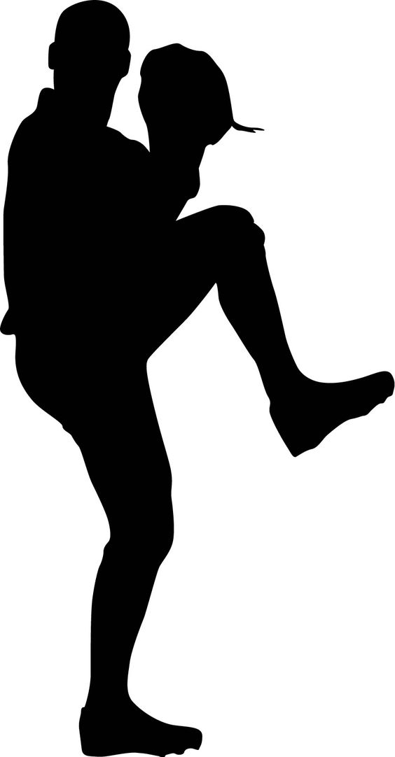 free clipart baseball player silhouette - photo #21
