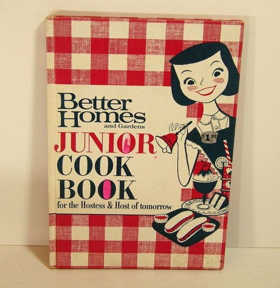 Junior Cook Book by BountifulBooks on Etsy, $5.00