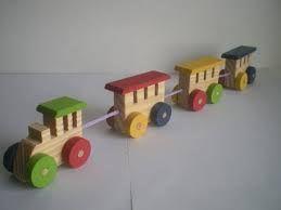 Resultado de imagem para brinquedos de madeira