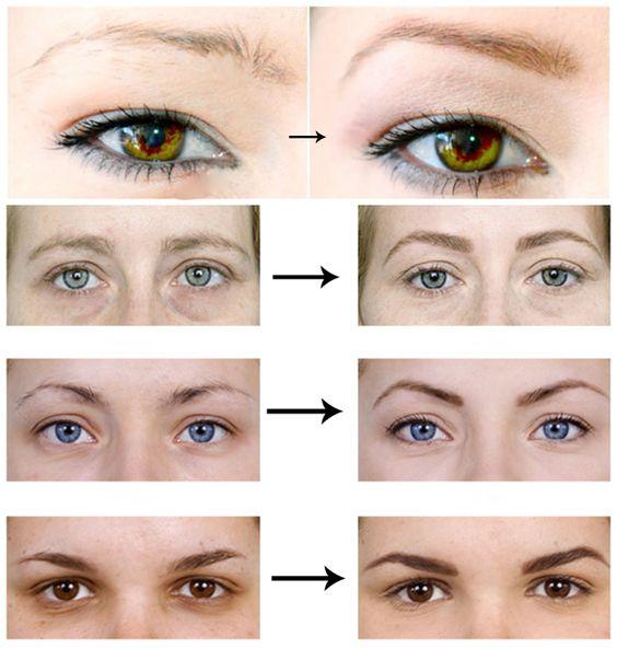 Comment obtenir un sourcil PARFAIT. Prenez bien un fard ou un crayon de la couleur de vos sourcils, dans les tons châtains, kakis. ATTENTION évitez les marrons