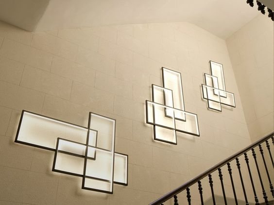 Applique à led pour éclairage indirect trio lt by cinier ...