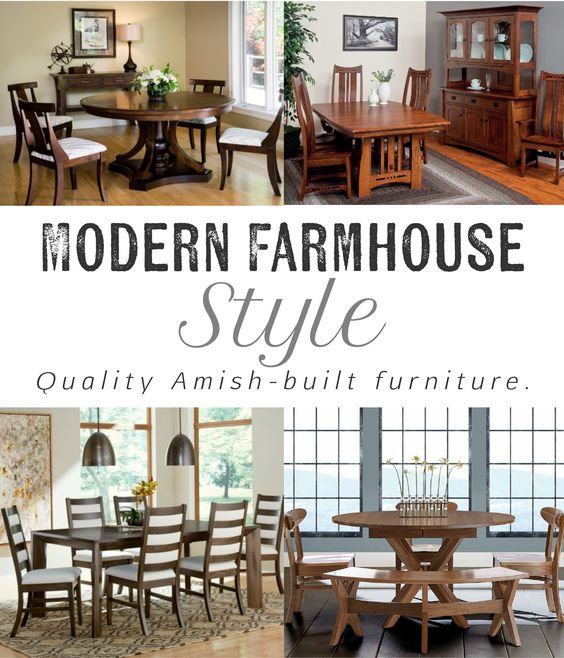 Quality Amish crafted furniture for your dining room.