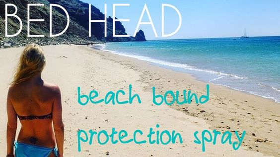 ♥♥♥♥♥ 5 Star Recommendation One of my hero products of Summer 2016 – Bed Head's Beach Bound hair protection spray. I have had quite an extended summer holiday this year, what with a wee…