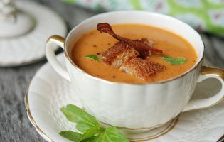Roasted tomatoes, Roasted tomato soup and Tomato soups on Pinterest
