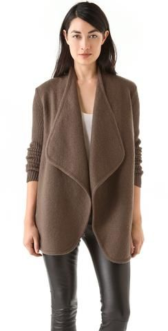 Vince Boiled Wool Jacket | Shopbop