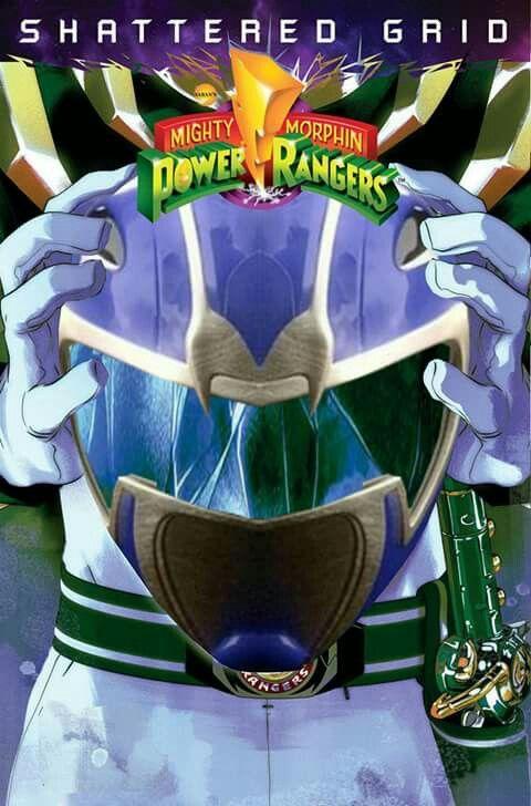Hyperforce Blue Shattered Grid Power Rangers Comic Power Rangers Ranger