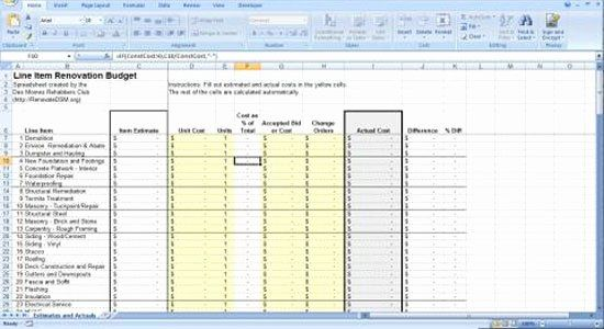 Residential Construction Budget Template Excel Inspirational Construction Cost Estimating Blog Ren Renovation Budget Budget Spreadsheet Construction Renovation