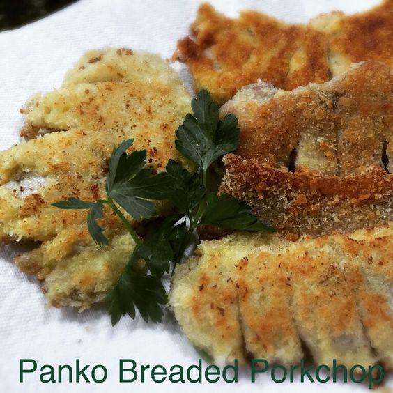 Panko Breaded Porkchop