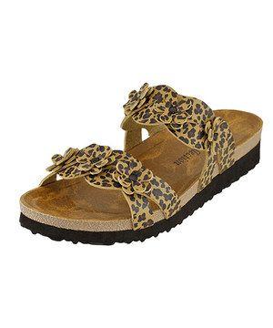 Love this Brown Leopard Rocita Slide by RK Collection on #zulily! #zulilyfinds