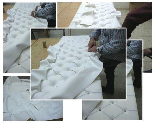¿Siempre te han gustado los cabeceros acolchados y tapizados? Ahora también podrás fabricar uno.