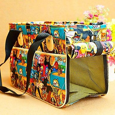 nouvelle maison de Voyage chenil fourre caisse sac de transport coloré chien chat portable de chiot pour chiens chats animaux domestiques sacs – EUR € 40.28