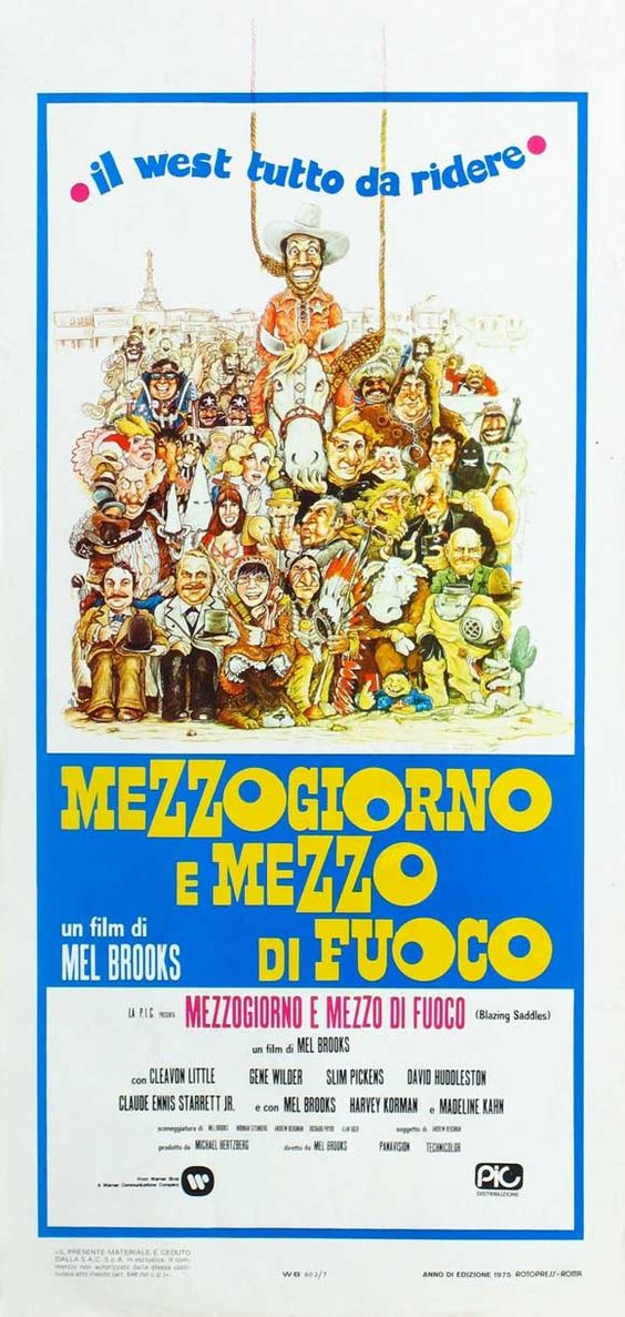 Blazing Saddles (1974) (Italy)