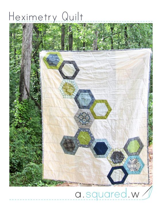 Heximetry Quilt Pattern
