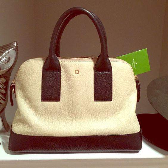 Kate Spade handbag Kate Spade Black and Tan handbag. Excellent condition. Dust bag included. kate spade Bags Satchels