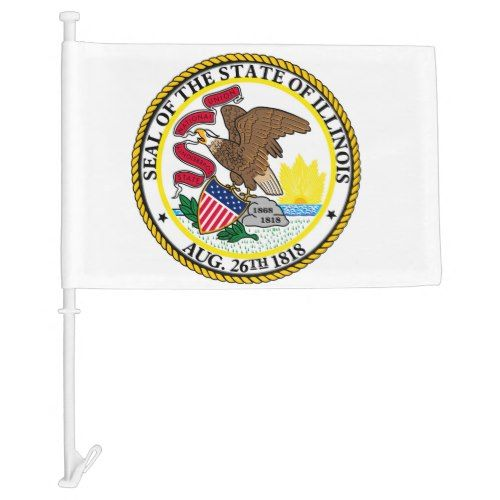 Pin On Illinois State Flag Custom Personalized State Flags
