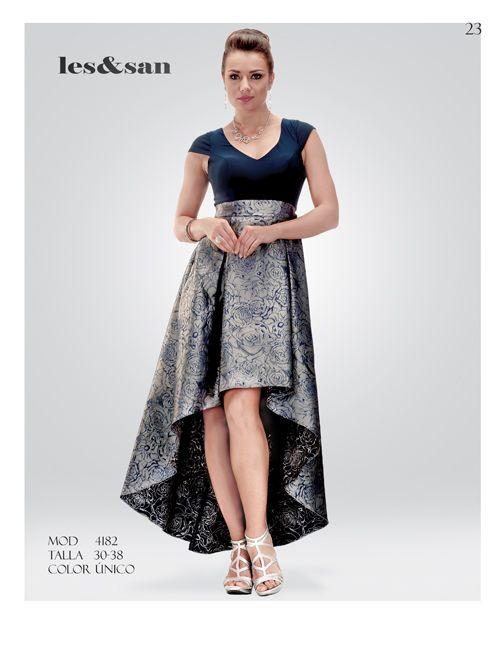 Vestido De Cola De Pato Plata Para Dama En 2019 Vestido
