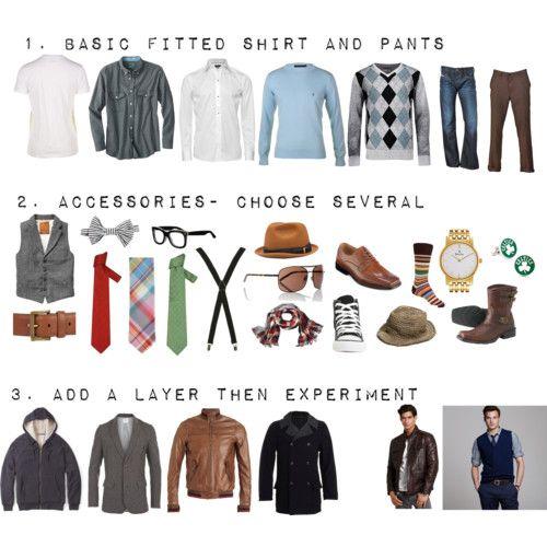 kläder för äldre män