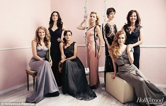 Amy Adams. Sally Field, Naomi Watts, Naomi Weisz, Marion Cotillard and Helen Hunt were also part of the special Actress Roundtable cover shoot for the Hollywood Reporter