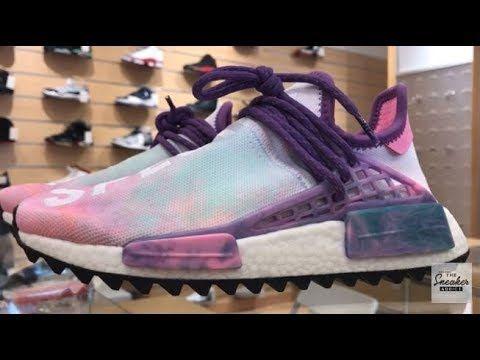 Pharrell X Adidas NMD Human Race Pink