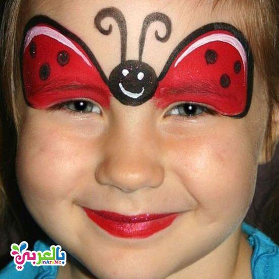 رسومات على وجوه الاطفال سهلة للبنات افكار حفلات للاطفال بالعربي نتعلم Glow Paint Face Painting Glow In The Dark