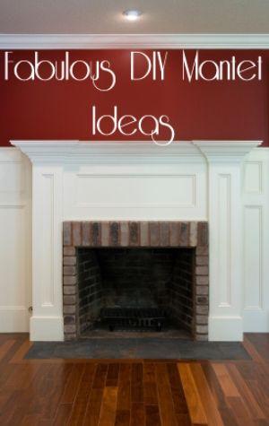 Fabulous DIY Mantel Ideas