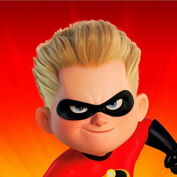 *DASHIELL (Dash) ROBERT PARR ~ The Incredibles