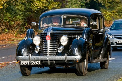1938 Classic American Hudson saloon on the London to Brighton Route