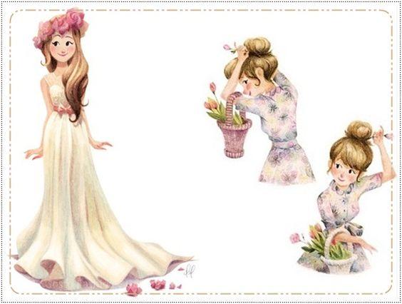 Gosto Fashion: Ilustradores: Genevieve Goudbout