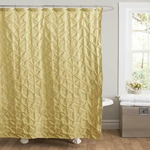 ebay sponsored puckered shower curtain