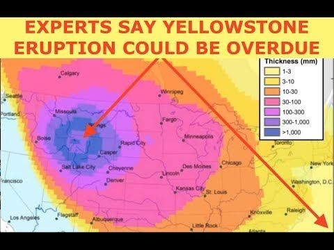 Experts Suggest Yellowstone Eruption Overdue Projection